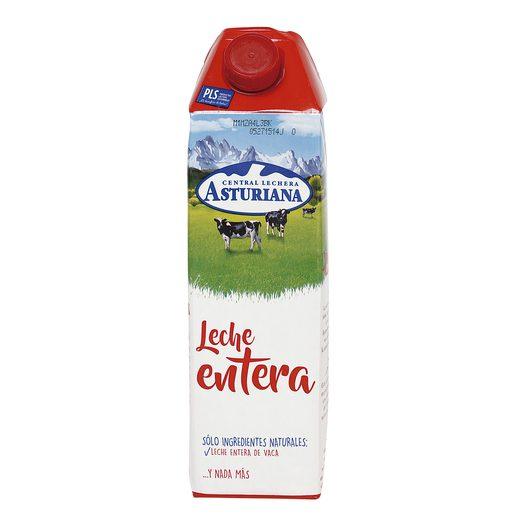 ASTURIANA leche entera envase 1 lt