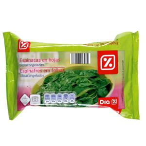 DIA espinacas envase 400 gr