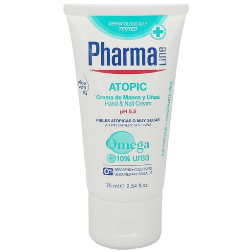 PHARMALINE crema de manos atopic tubo 75 ml