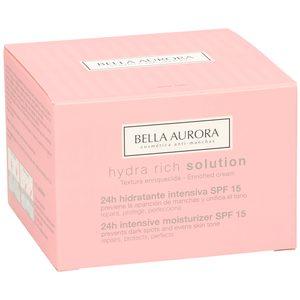 BELLA AURORA Hydra rich crema hidratante intensiva spf 15 tarro 50 ml