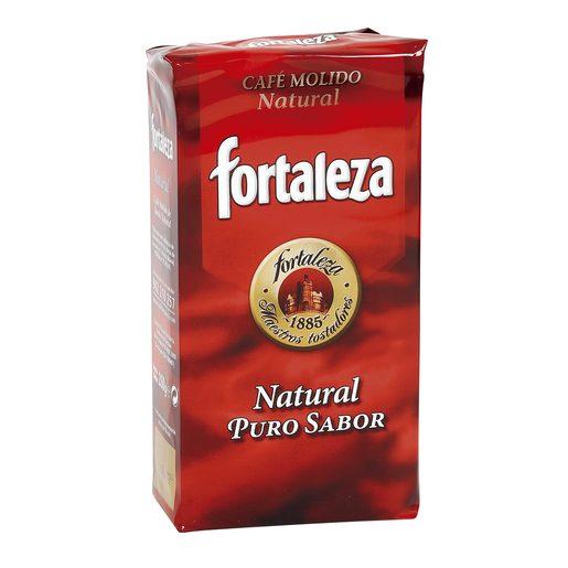 FORTALEZA café molido natural paquete 250 gr