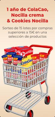 Sorteo Colacao y Nocilla en dia.es