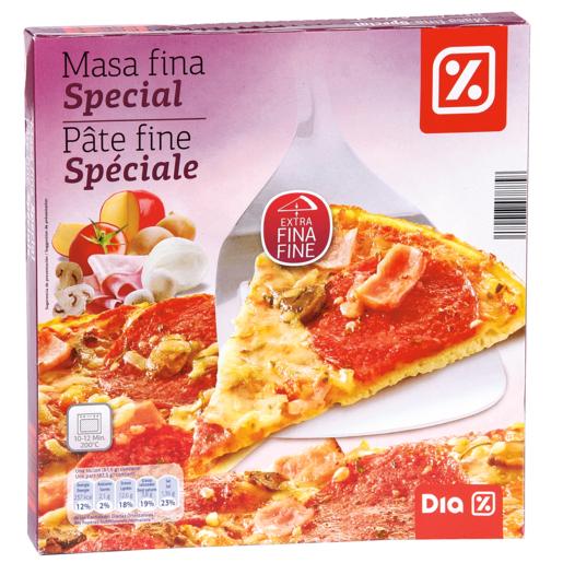 DIA pizza masa fina speciale caja 350 gr