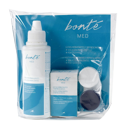 BONTE kit para lentes de contacto formato viaje 1 ud