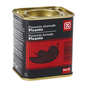 DIA pimentón ahumado picante lata 75 gr
