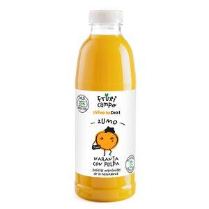 DIA FRUTICAMPO zumo de naranja sin pulpa botella 750 ml