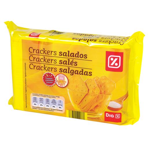 DIA galletas crackers saladas paquete 3x100 gr