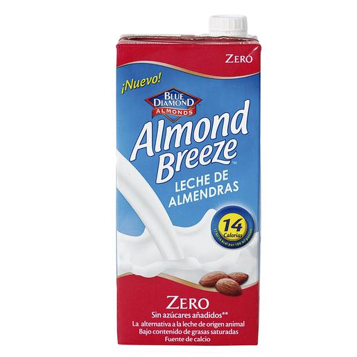 ALMOND BREEZE leche de almendras light envase 1 lt