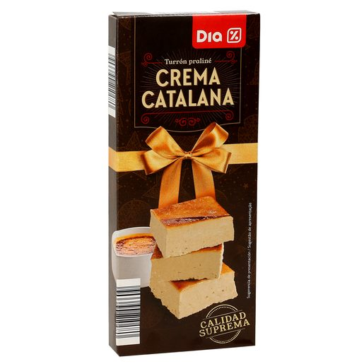 DIA praliné de crema catalana estuche 200 gr