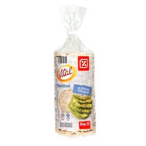 DIA VITAL tortitas de arroz integral bolsa 130 gr