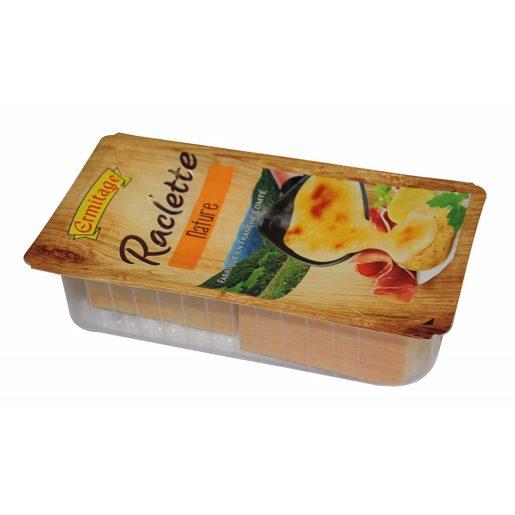 ERMITAGE queso raclette en lonchas sobre 400 gr