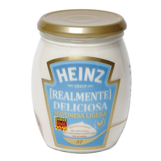HEINZ mayonesa light frasco 490 gr