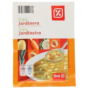 DIA sopa jardinera sobre 85 grs