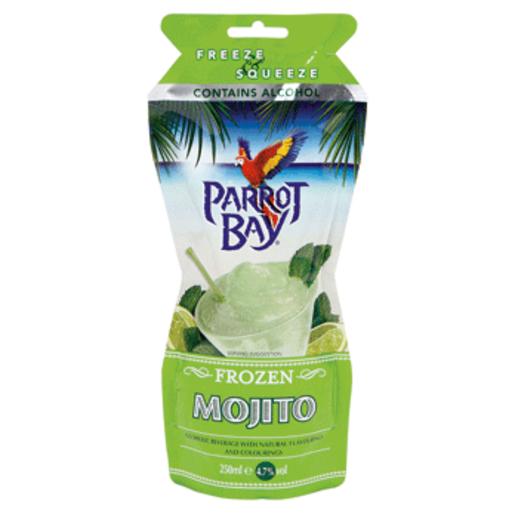 PARROT BAY cocktail mojito listo servir granizado envase 25 cl