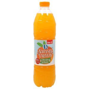 DIA refresco sin gas de naranja light botella 1.5 lt