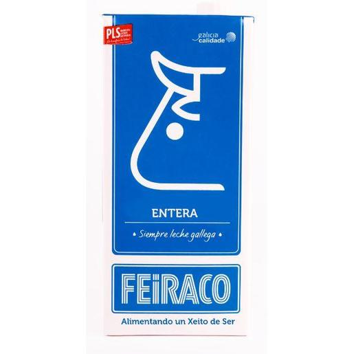 FEIRACO leche entera envase 1 lt
