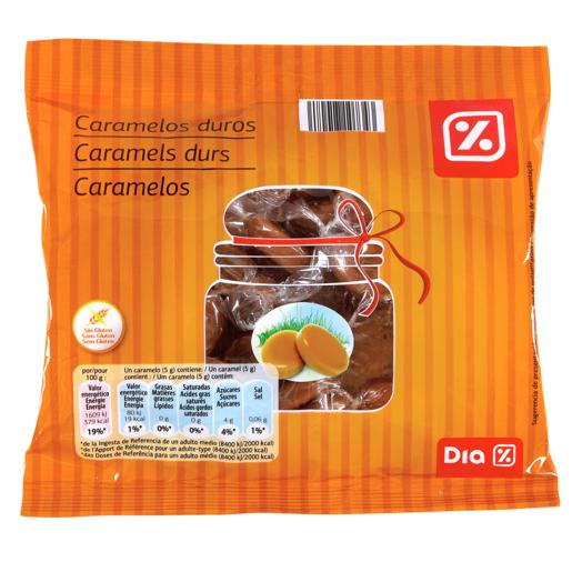 DIA caramelos de leche bolsa 175 gr
