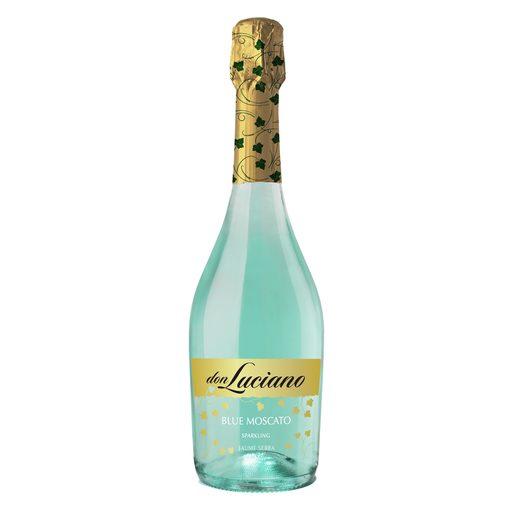 DON LUCIANO vino espumoso blue moscato botella 75 cl
