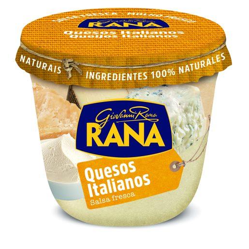 RANA salsa de quesos italianos frasco 180 gr
