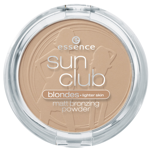 ESSENCE Sun Club Matt Bronzing polvos bronceadores  01 Natural