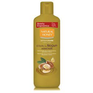 NATURAL HONEY gel de ducha elixir de argán addition bote 650 ml
