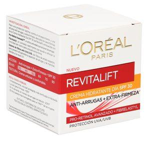 L'OREAL Revitalift cuidado hidratante de día antiarrugas spf 30 tarro 50 ml