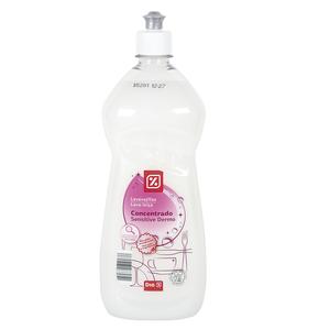 DIA lavavajillas mano concentrado dermo sensitive botella 1 lt