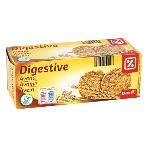 DIA galletas tipo Digestive avena paquete  425 grs