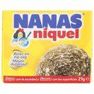 NANAS estropajo niquel paquete 1 ud
