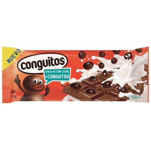 LACASA chocolate con leche y conguitos tableta 110 gr