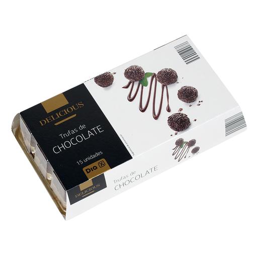 DIA DELICIOUS trufas de chocolate heladas caja 240 gr