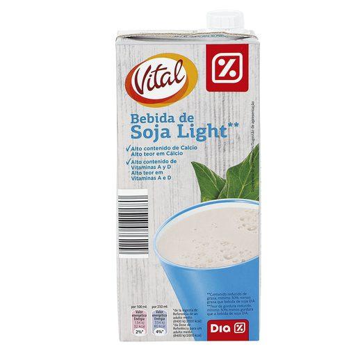 DIA VITAL bebida soja light envase 1lt