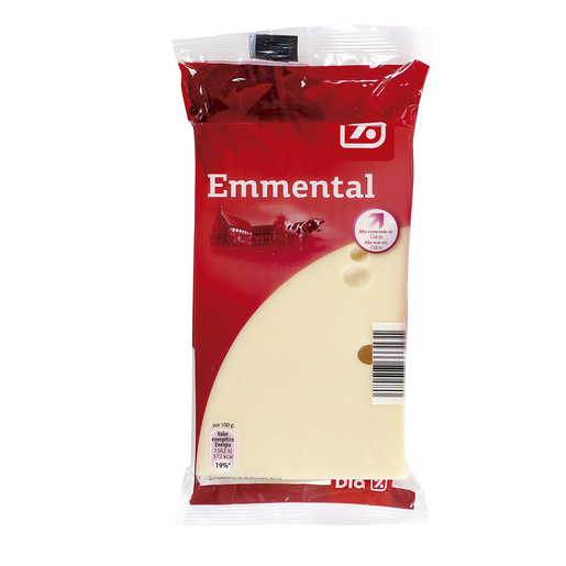 DIA queso taco emmental envase 250 g