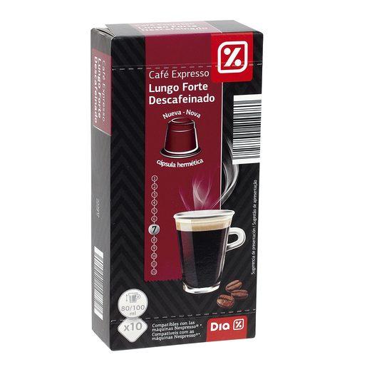 DIA café espresso descafeinado caja 10 cápsulas