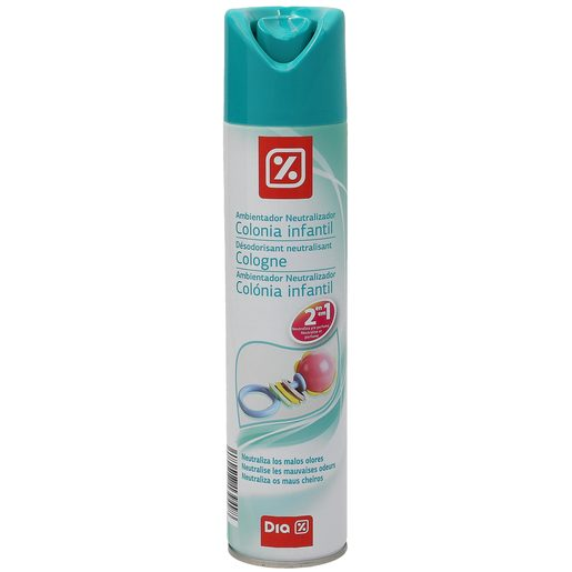 DIA ambientador neutralizante aroma colonia infantil spray 300 ml