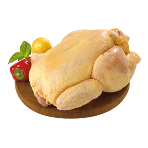 Pollo de antaño limpio unidad (peso aprox. 2.3 Kg)