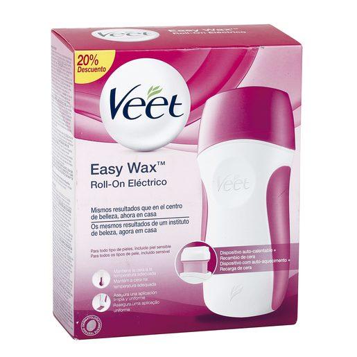 VEET Easy wax roll on eléctrico 50 ml