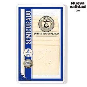DIA EL CENCERRO queso semicurado en lonchas envase 200 gr