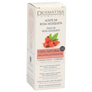 DERMATINA aceite de rosa mosqueta 100% vegetal bote 15 ml