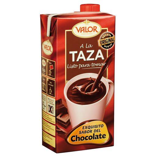 VALOR chocolate a la taza envase 1 lt