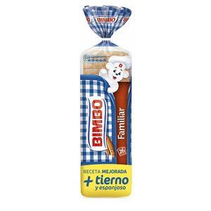 BIMBO pan de molde formato familiar bolsa 750 gr