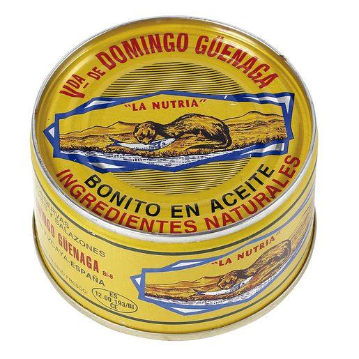 LA NUTRIA bonito del norte en aceite lata 101 gr