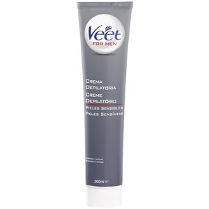 VEET For men gel crema depilatorio corporal piel sensible tubo 200 ml