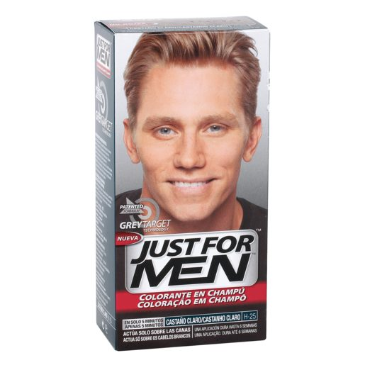 JUST FOR MEN tinte para hombre Castaño Claro caja 1 ud