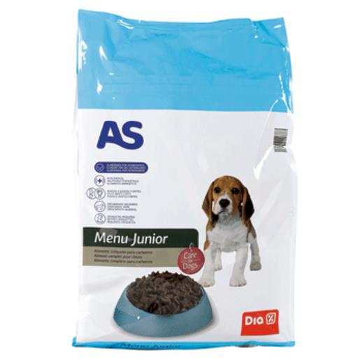 AS alimento para perros cachorro bolsa 7 kg
