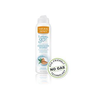 NATURAL HONEY Lotion go loción hidratante con aceite de almendras spray 200 ml