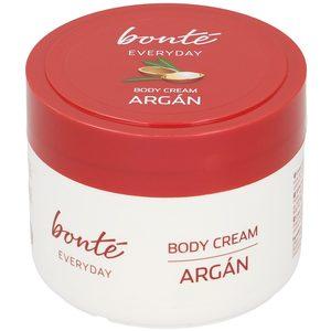 BONTE crema corporal con aceite de argán tarro 300 ml