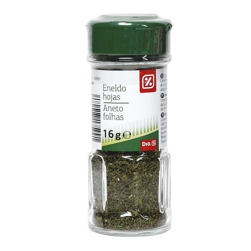 DIA eneldo hojas frasco 16 gr