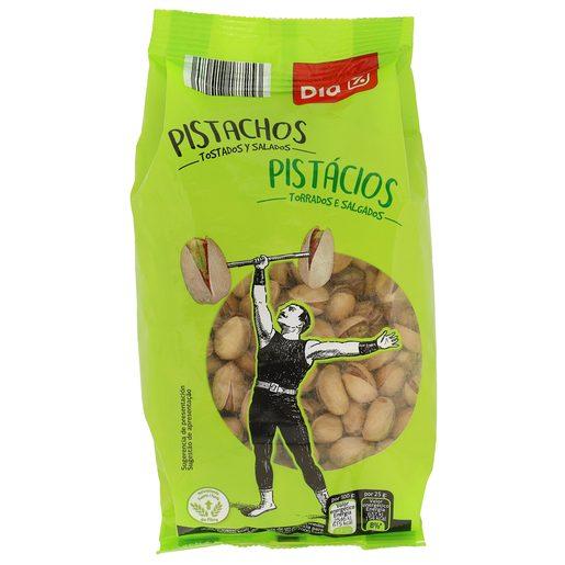 DIA pistachos tostados con sal bolsa 200 gr