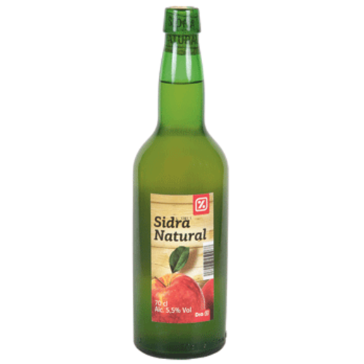 DIA sidra natural botella 70 cl